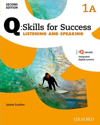 Q Skills for Success: Level 1: Listening & Speaking Split Student Book A with IQ Online -