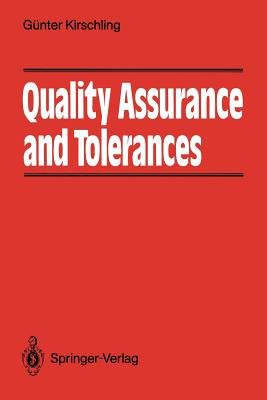 Quality Assurance and Tolerance - Greener, Sue (Translated by)