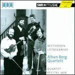 Quartet Recital 1978: Beethoven, Lutoslawski