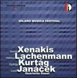 Quartetto Danel Plays Xenakis, Lachenmann, Kurt�g & Jan�cek