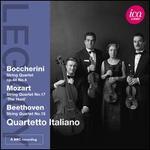 Quartetto Italiano plays Boccherini, Mozart & Beethoven