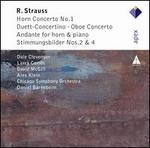 R. Strauss: Horn Concerto No. 1; Duett-Concertino; Oboe Concerto; Etc.