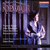 R. Strauss: Rosenkavalier (Highlights) - Andrew Shore (baritone); Diana Montague (mezzo-soprano); Elizabeth Vaughan (contralto); Eugene Ginty (tenor);...
