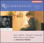 Rachmaninov: Complete Songs, Vol. 2