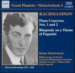 Rachmaninov: Piano Concertos Nos. 1 & 2; Rhapsody on a Theme of Paganini