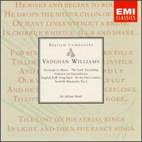 Ralph Vaughan Williams: Serenade to Music; The Lark Ascending; Fantasia on Greensleeves; English Folk Song Suite; etc -