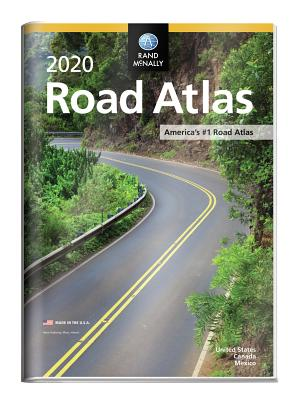Rand McNally 2020 Road Atlas W/ Vinyl Protective Cover - Rand McNally