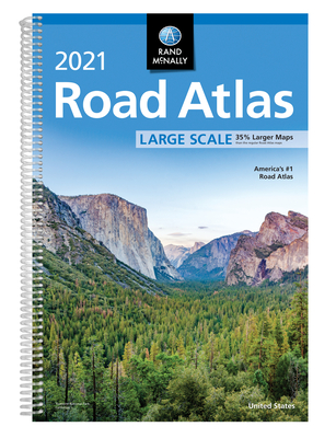 Rand McNally 2021 Large Scale Road Atlas - Rand McNally