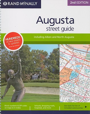 Rand McNally Augusta Street Guide: Including Aiken and North Augusta - Rand McNally