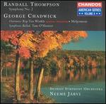 Randall Thompson: Symphony No. 2; George Chadwick: Overtures; Tam O'Shanter