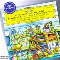 Ravel: Bolero; Debussy: La Mer; Mussorgsky/Ravel: Tableaux d'une Exposition - Berlin Philharmonic Orchestra; Herbert von Karajan (conductor)