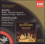 Ravel: Bolero; Rapsodie espagnole; Daphnis et Chloé Suite No. 2; Honegger: Symphony No. 2