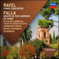 Ravel:  Piano Concertos; Falla: Nights In The Gardens Of Spain - Alicia de Larrocha (piano); London Philharmonic Orchestra