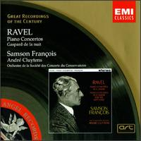 Ravel: Piano Concertos - Samson Fran�ois (piano); Conservatory Concert Society Orchestra, Monte Carlo; Andr� Cluytens (conductor)