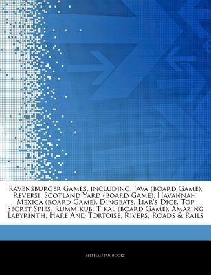 Ravensburger Games, Including: Java (Board Game), Reversi, Scotland