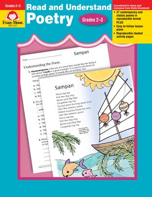 Read & Understand Poetry Grades 2-3 - Evan-Moor Educational Publishers