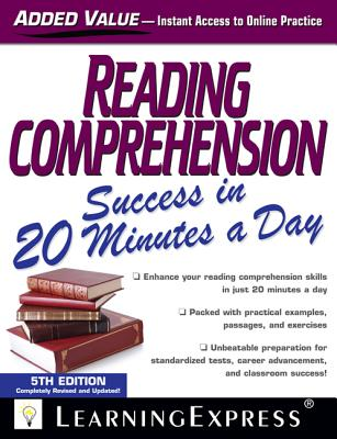 Reading Comprehension Success in 20 Minutes a Day - Learning Express LLC (Creator)