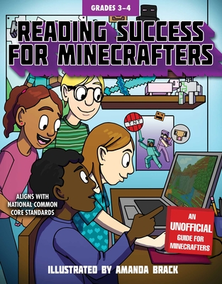 Reading Success for Minecrafters: Grades 3-4 - Sky Pony Press