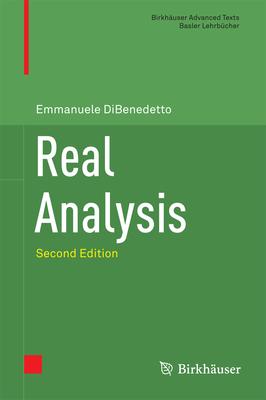Real Analysis - DiBenedetto, Emmanuele