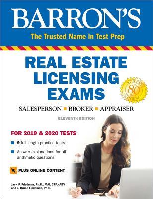 Real Estate Licensing Exams with Online Digital Flashcards - Friedman, Jack P, and Lindeman, J Bruce
