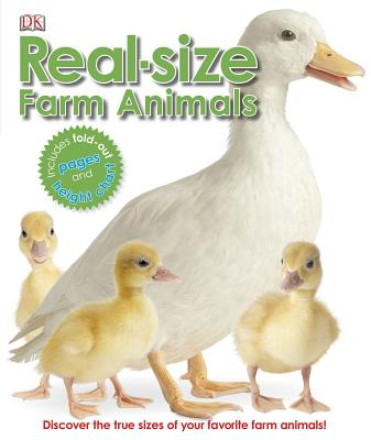 Real-Size Farm Animals - DK Publishing (Creator)