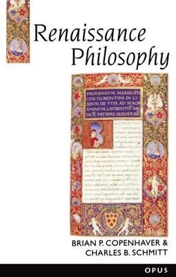 Renaissance Philosophy - Copenhaver, Brian P