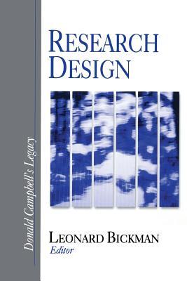 Research Design: Donald Campbell's Legacy - Bickman, Leonard (Editor)