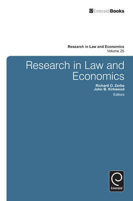 Research in Law and Economics: A Journal of Policy - Zerbe, Richard O, Jr.