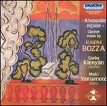 Rhapsodie Ni�oise: Clarinet music by Eug�ne Bozza