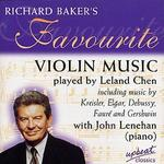 Richard Baker's Favourite Violin Music