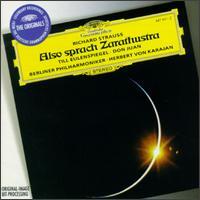 Richard Strauss: Also sprach Zarathustra; Till Eulenspiegel; Don Juan - Michel Schwalbé (violin); Berlin Philharmonic Orchestra; Herbert von Karajan (conductor)