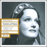 Richard Strauss: Ariadne auf Naxos - Alda Noni (vocals); Alfred Muzzarelli (vocals); Elisabeth Rutgers (vocals); Emmy Loose (vocals); Erich Kunz (vocals);...