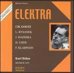 Richard Strauss: Elektra (München, 1955)