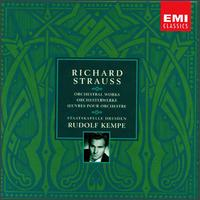 Richard Strauss: Orchestral Works - Malcolm Frager (piano); Manfred Clement (oboe); Manfred Weise (clarinet); Peter Damm (horn); Peter Mirring (violin);...