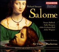 Richard Strauss: Salome - Alan Ewing (bass); Alasdair Elliott (tenor); Andrew Rees (tenor); Antony Rich (tenor); Charles Kilpatrick (staging);...