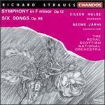Richard Strauss: Symphony in F minor Op. 12; Six Songs Op. 86