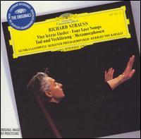 Richard Strauss: Vier letzte Lieder; Tod und Verkl�rung - Gundula Janowitz (soprano); Berlin Philharmonic Orchestra; Herbert von Karajan (conductor)