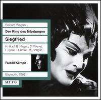 Richard Wagner: Der Ring des Nibelungen - Siegfried (Bayreuth, 1962) - Birgit Nilsson (vocals); Erich Klaus (vocals); Hans Hopf (vocals); Ingeborg Moussa-Felderer (vocals); Marga Höffgen (vocals);...