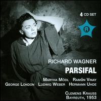 Richard Wagner: Parsifal (Bayreuth, 1953) - Anna Tassopoulos (vocals); Erika Zimmermann (vocals); George London (vocals); Gerda Wismar (vocals); Gerhard Stolze (vocals);...