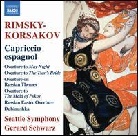 Rimsky-Korsakov: Capriccio espagnol - Seattle Symphony Orchestra; Gerard Schwarz (conductor)