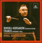 Rimsky-Korsakov: Russische Ostern; Franck: Symphony in D minor