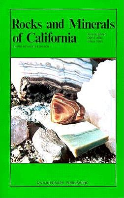 Rocks and Minerals of California - Brown, Vinson
