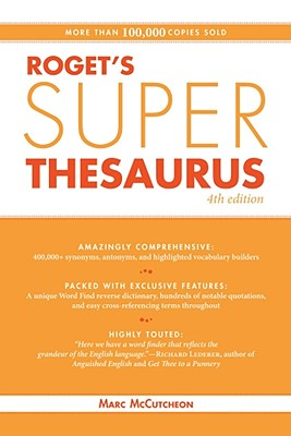Roget's Super Thesaurus - McCutcheon, Marc