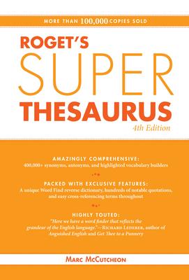 Roget's Super Thesaurus - McCutcheon, Marc