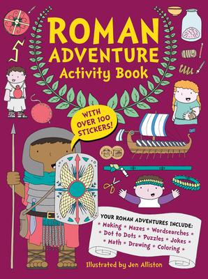 Roman Adventure Activity Book - Alliston Jen