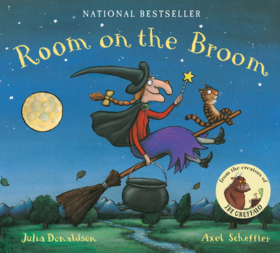 Room on the Broom Lap Board Book - Donaldson, Julia
