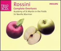 Rossini: Complete Overtures - Ambrosian Singers (choir, chorus); Academy of St. Martin-in-the-Fields; Neville Marriner (conductor)
