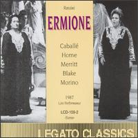 Rossini: Ermione/Semiramide (Act 1) - Chris Merritt (vocals); Daniela Lojarro (vocals); Enrico Facini (vocals); Giorgio Surjan (vocals); Giuseppe Morino (vocals); Marilyn Horne (vocals); Montserrat Caballé (vocals); Paola Romano (vocals); Rockwell Blake (vocals)