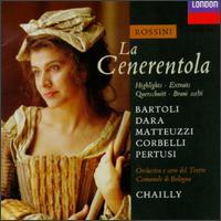 Rossini: La Cenerentola [Highlights] - Alessandro Corbelli (baritone); Cecilia Bartoli (vocals); Enzo Dara (baritone); Fernanda Costa (vocals);...