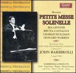 Rossini: Petite Messe Solenelle - Bruna Castagna (vocals); Charles Kullmann (vocals); Kathryn Meisle (mezzo-soprano); Lawrence Tibbett (baritone);...